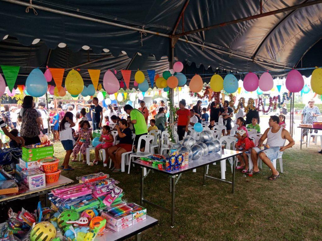 กิจกรรมงานวันเด็ก นิติบุคคลหมู่บ้านจัดสรร เดอะคอนเนค12 เอ (สุวรรณภูมิ)
